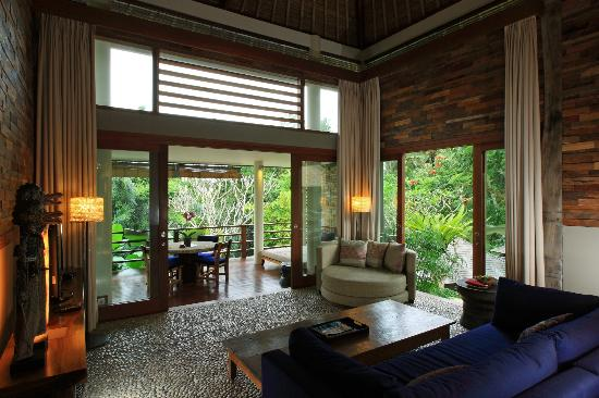 The Purist Villas and Spa: Living Room at The Hill Villa