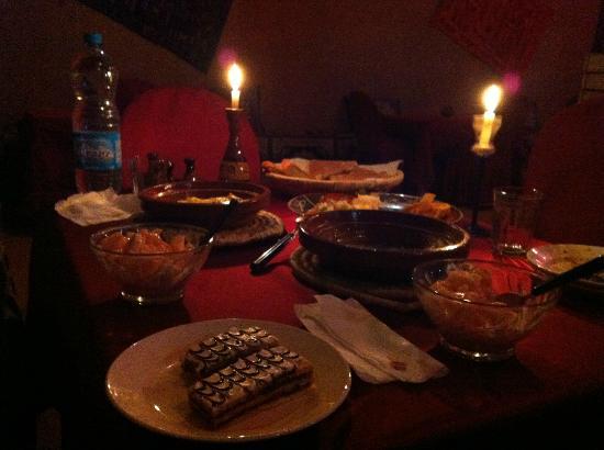 Kasbah Tamariste : dinner