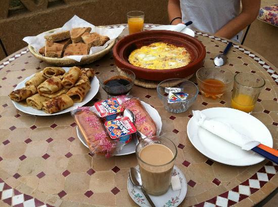 Kasbah Tamariste : Breakfast