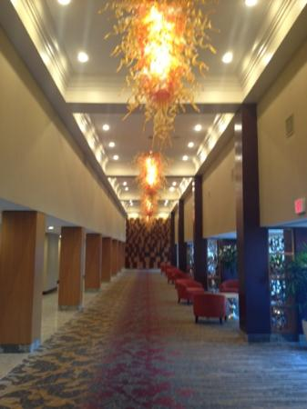 Doubletree by Hilton Hotel St Louis - Chesterfield : New Prefunction. Cool lights!