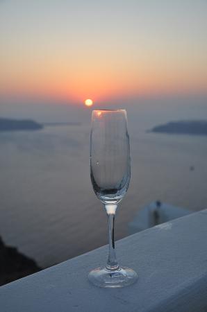 Grace Santorini Hotel: Grace sunset