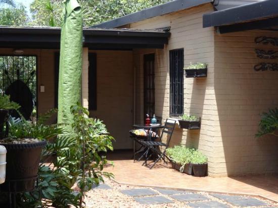 Ama Zulu Guesthouse: der Innenhof