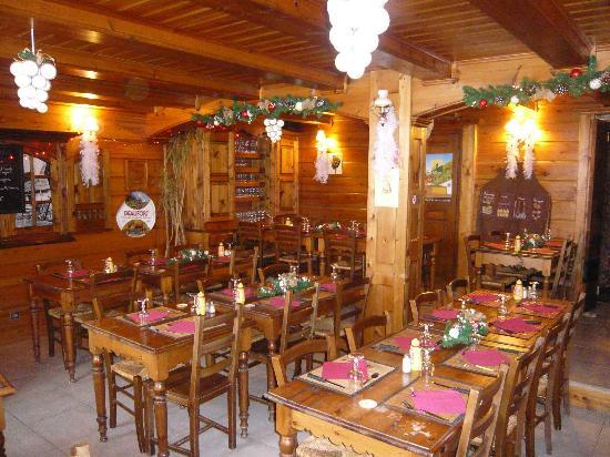 Saint-Jean-de-Belleville, Fransa: restaurant