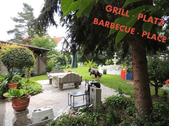 Grillplatz Im Garten grillplatz garten picture of hotel garni rodenbach rodenbach