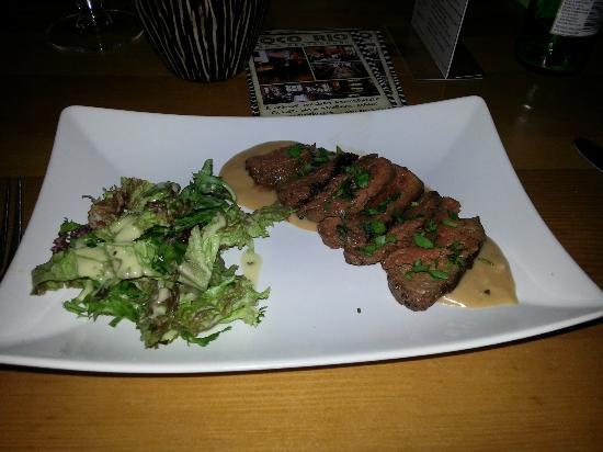 Coco Rio Restaurant: Kangaroo starter