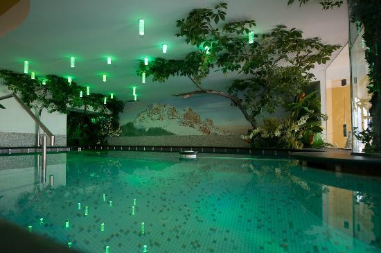 Wellness Hotel Fontana: Vasca idromassaggio a 34°