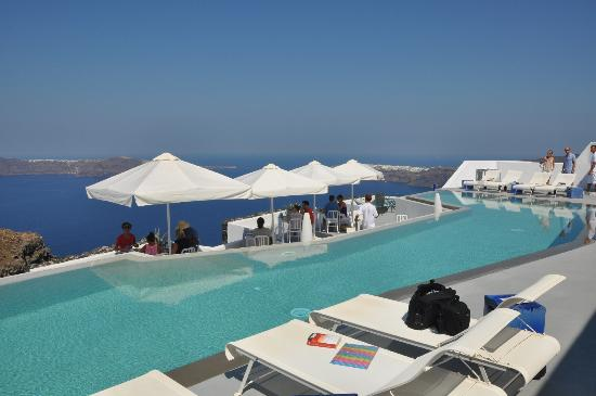 Grace Santorini Hotel: Breakfast