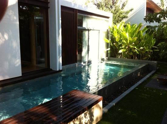 W Koh Samui: private pool