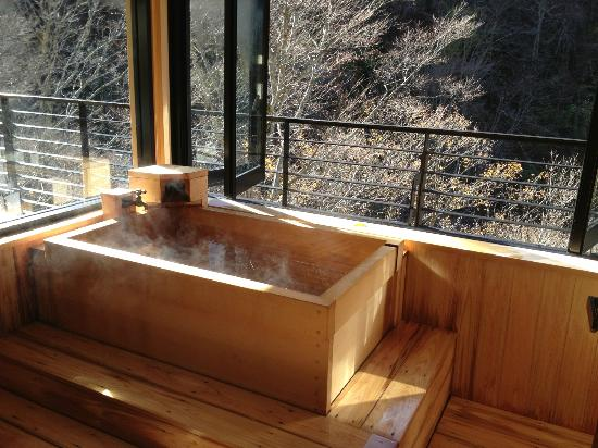 Yamadakan: 個室の露天風呂