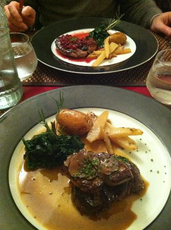 La Girafe : beef with fois gras and truffles