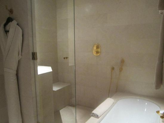 Park Hyatt Paris - Vendome: Shower and Bathtub