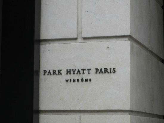 Park Hyatt Paris - Vendome : Outside