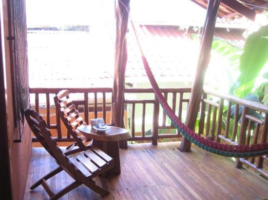 Tico Adventure Lodge: balcony on second floor