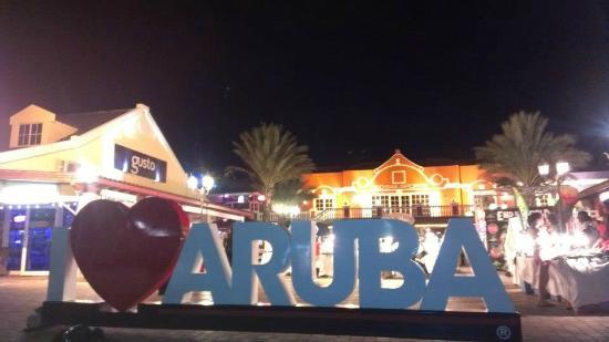 Hotel Riu Palace Aruba: I LOVE ARUBA