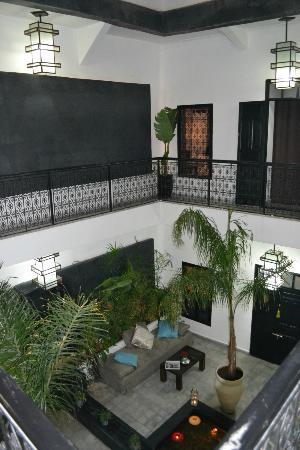 Riad Villa Wenge: Riad Court Yard