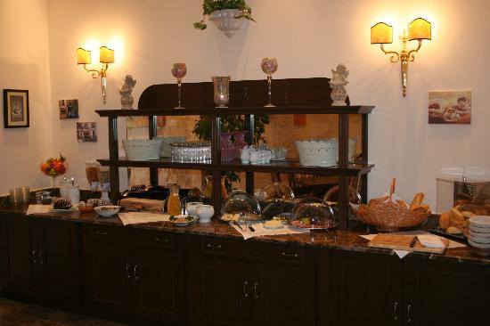 Hotel San Marco : Frühstücksbüffet