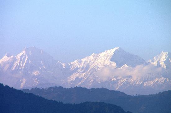 At Home Nepal Guest House: Blick von der Dachterrasse