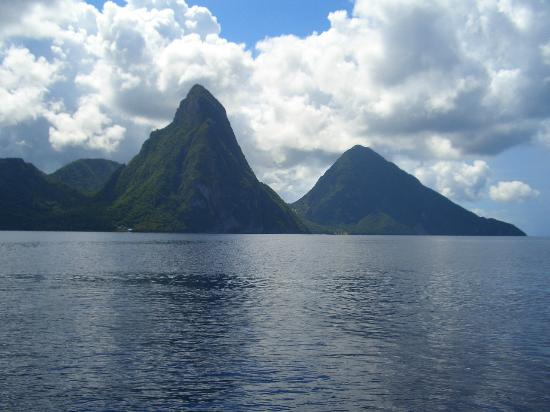 The Real Deal Boat Tours: Piton Mountains