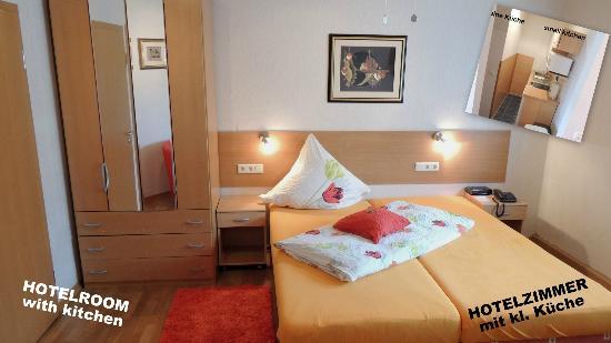 Hotel Garni Rodenbach: Hotelzimmer mit kl. Küche
