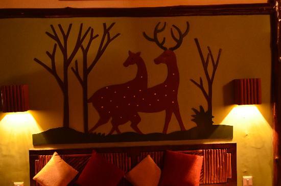 Nature Heritage Resort: Bedroom backdrop