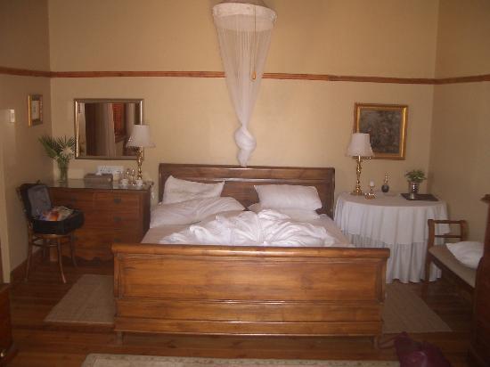 La Plume: Our bedroom