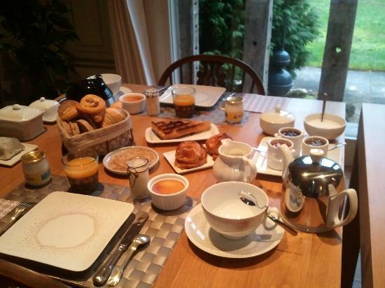 Le Clos Pasquier : Petit-déjeuner gourmand au Clos Pasquier
