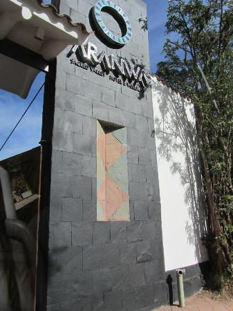 Aranwa Sacred Valley Hotel & Wellness: La Puerta de ingreso al Hotel