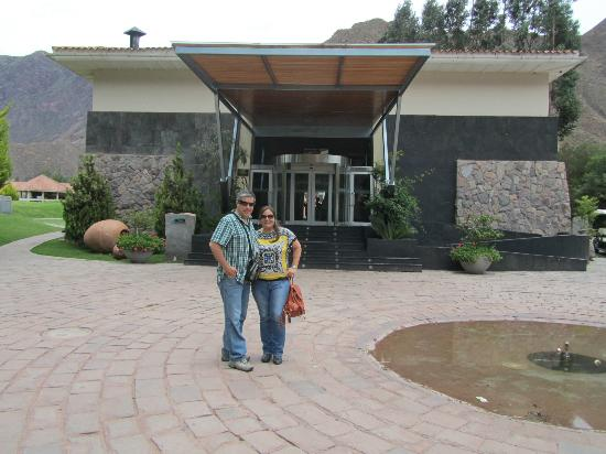 Aranwa Sacred Valley Hotel & Wellness: El ingreso al Hotel