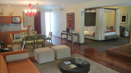 Aranwa Sacred Valley Hotel & Wellness: Nuestra Suite del Río - Panorámica