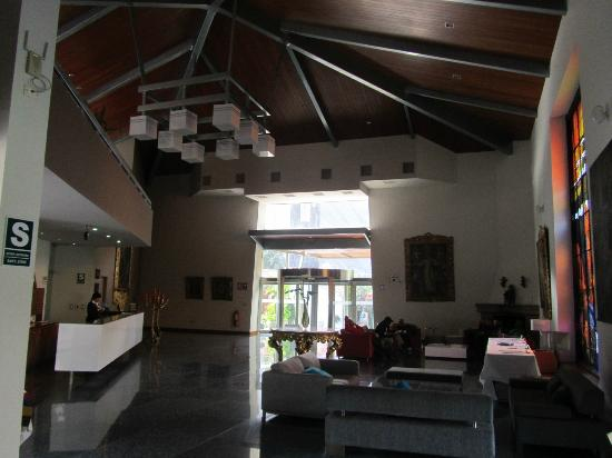 Aranwa Sacred Valley Hotel & Wellness: La Recepción