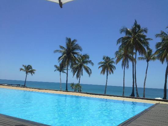Anjajavy L'Hotel: the amazing infinity pool
