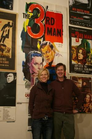 The Third Man Museum: Karin and Gerhard