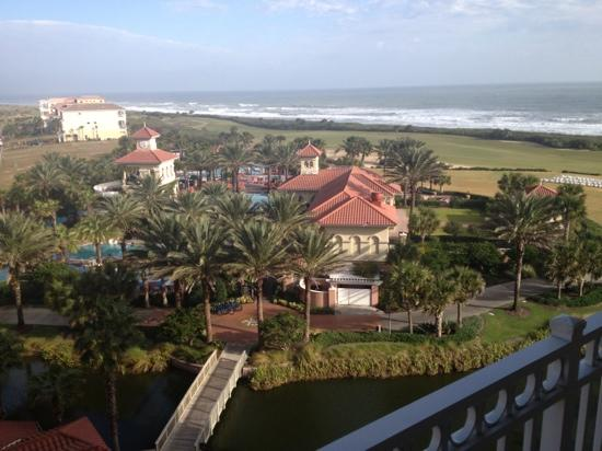 Hammock Beach Resort: this is a terrible thing to have to wake up to!(please note the sarcasm)