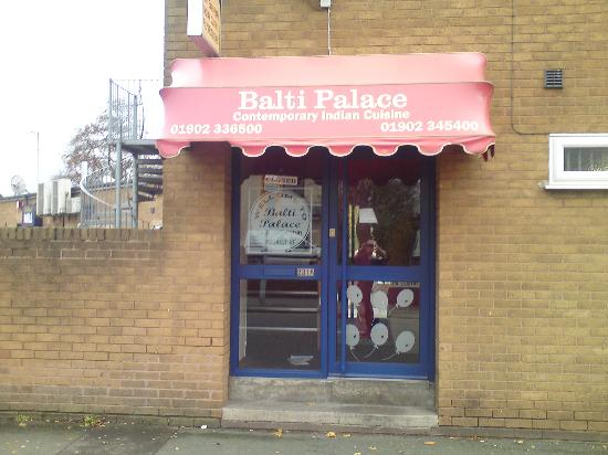 Balti Palace entrance.