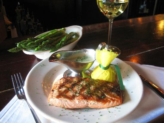 Mark's Prime Steakhouse: Wood Grilled Salmon