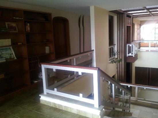Sitio Arariba: Vista de dentro Charme do elevador