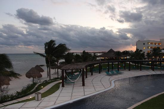 Secrets Silversands Riviera Cancun: view from our balcony