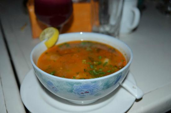 KHIVA Restaurant : Soup number 7 is highly recommended.
