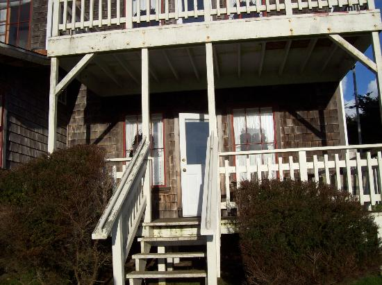 Fensalden Inn: The Headlands Private Porch