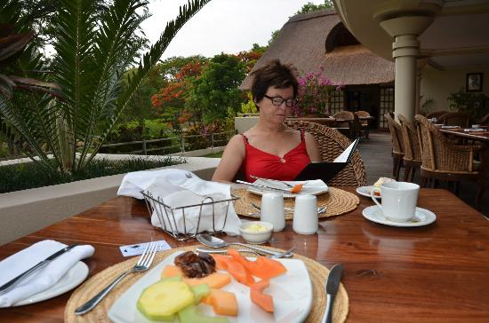 Ilala Lodge: Breakfast area