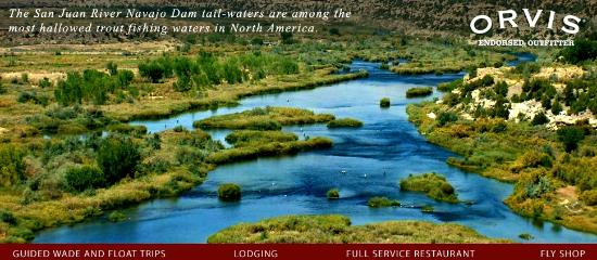 Fisheads San Juan River Lodge: the San Juan River Quality Waters