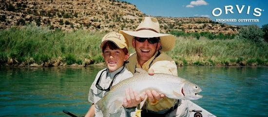 Fisheads San Juan River Lodge: Great family fun fishing on the San Juan River