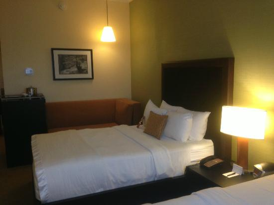 Westminster Hotel: Bed