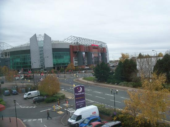 Premier Inn Manchester Old Trafford Hotel Ground From Window