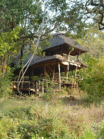 Bua River Lodge: Main lodge