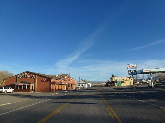 McDermitt, NV: View North to the Oregon State Line, Morning