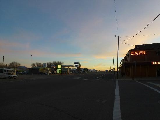 McDermitt, NV: View South at Dusk