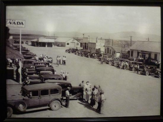 McDermitt, NV: 4th of July Horse Race ~ 1930, Say When Cafe Photo Collection