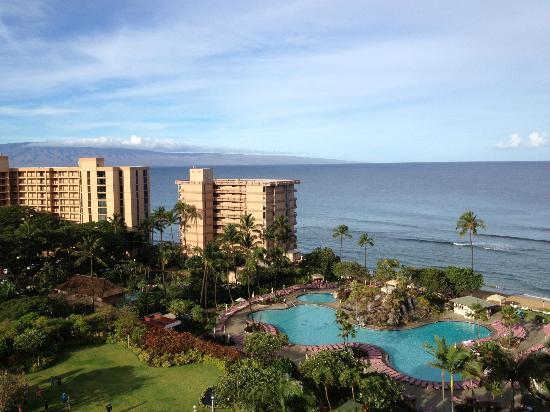 Ka'anapali Beach Club: view from room 1040