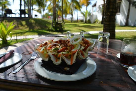 Ibo Island Lodge: Lunch